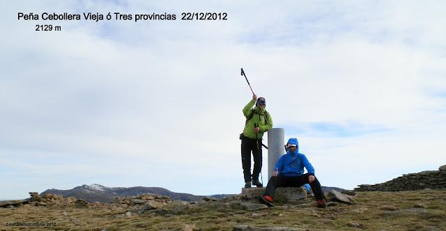 Cumbre Peña Cebollera ó Tres Provincias
