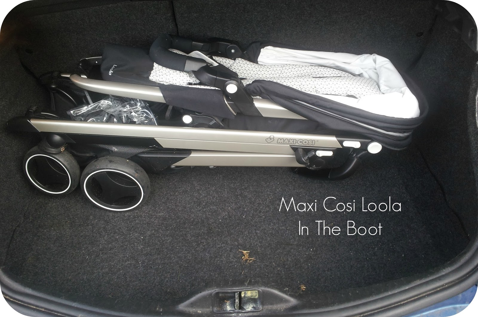 Maxi Cosi Loola In The Boot