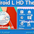 Android L HD Theme For Nokia c3-00,x2-01,asha200,201,205,210,302 320*240 Devices