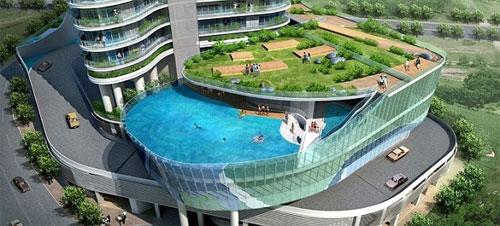 bể bơi dự án new life tower Hạ Long nằm ở đâu
