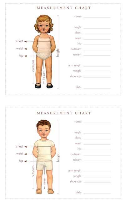 Printable: Measurement cards ... | the ReFab Diaries
