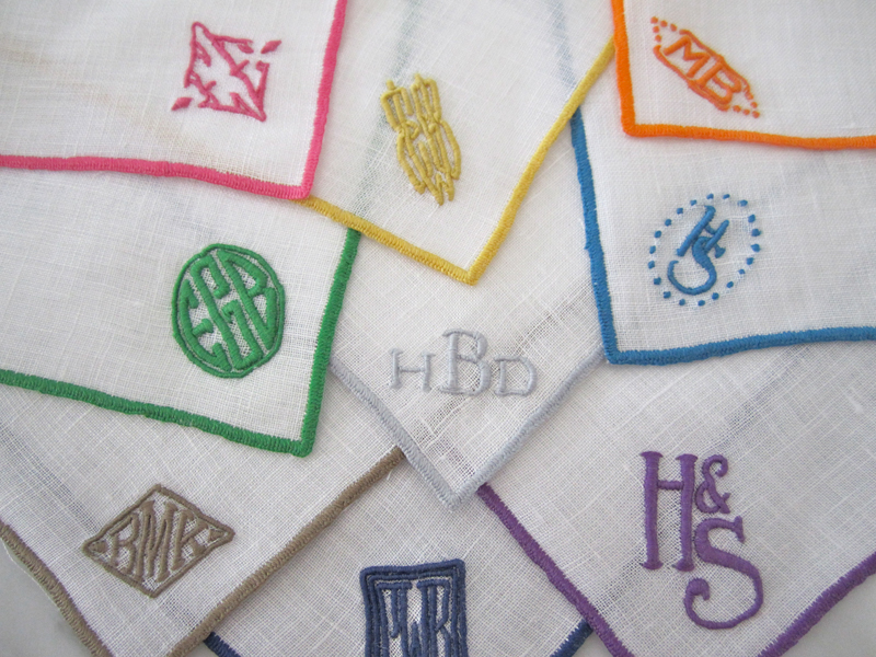 kimberly schlegel whitman  monogram monday  julia b