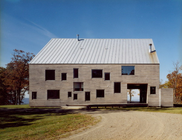 Modern Barn Home Dutch Barn Frame In A House Moved And