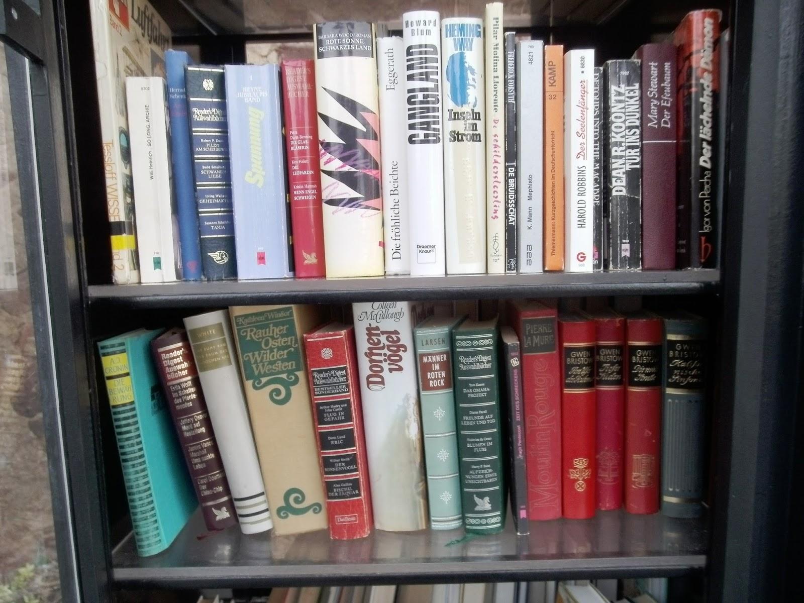 Rheumatologe: Öffentliche Bücherschränke