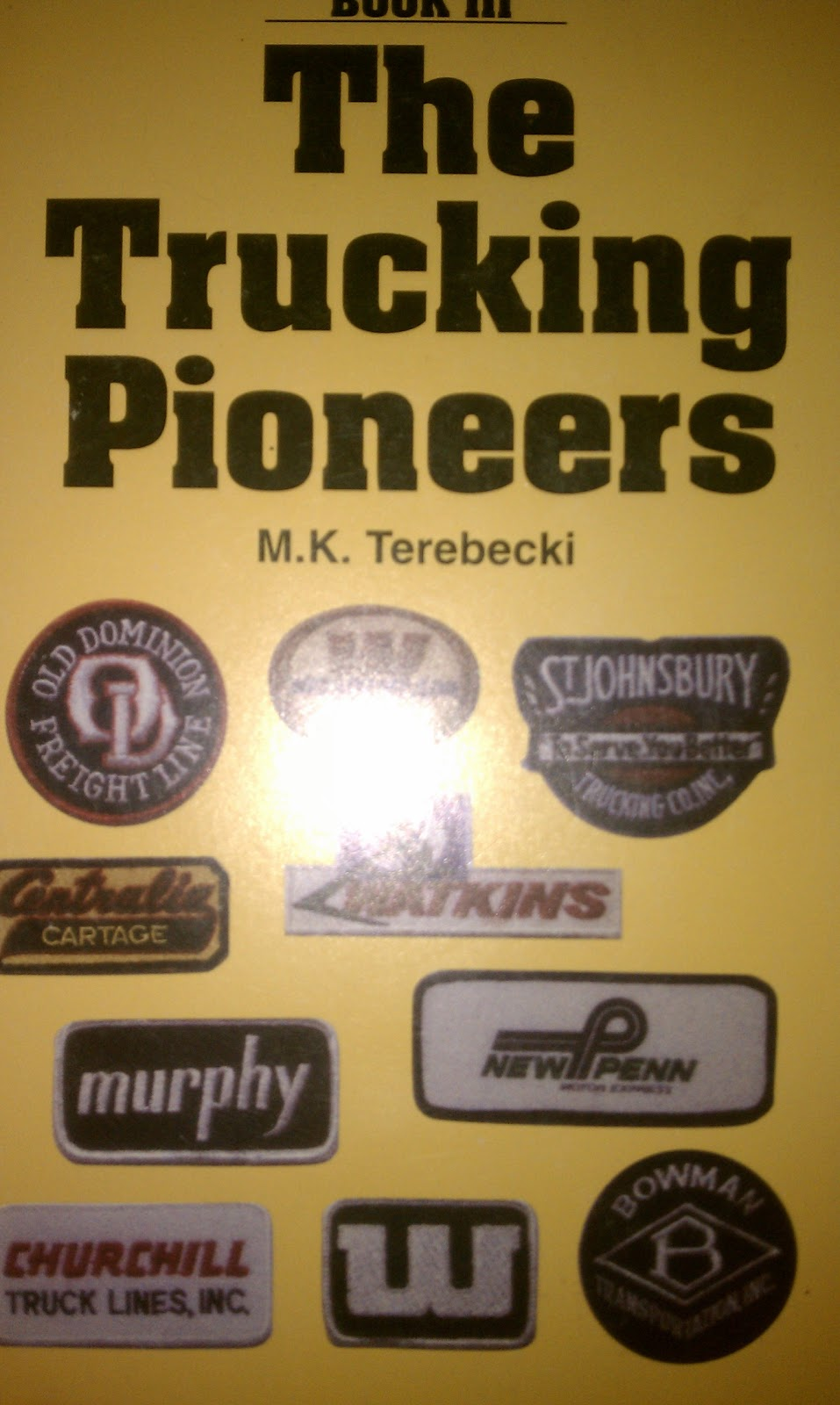 book music reviews and music  the trucking pioneers book iii v by m k terebecki