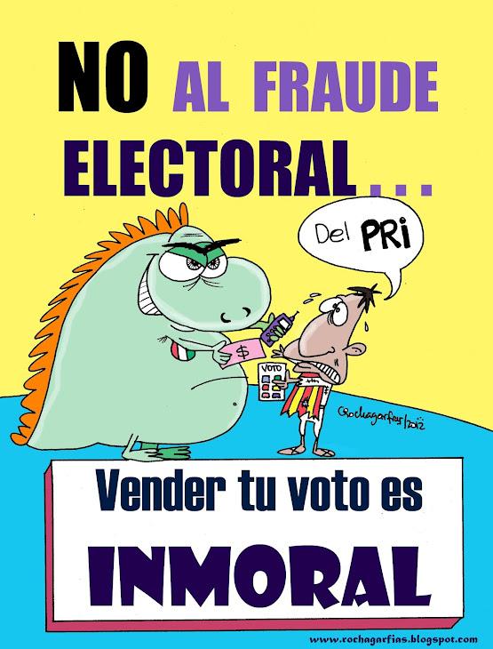 Vender tu voto es inmoral.
