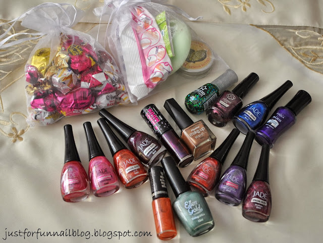 September Haul: Epic swap! Jade & Hits Polishes