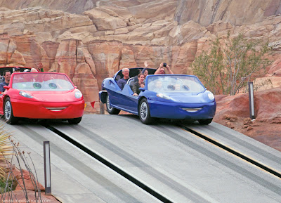 Radiator Springs Racers Cars Land Carsland DCA Disney