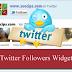 Cara Membuat widget Follower Twitter di Blog