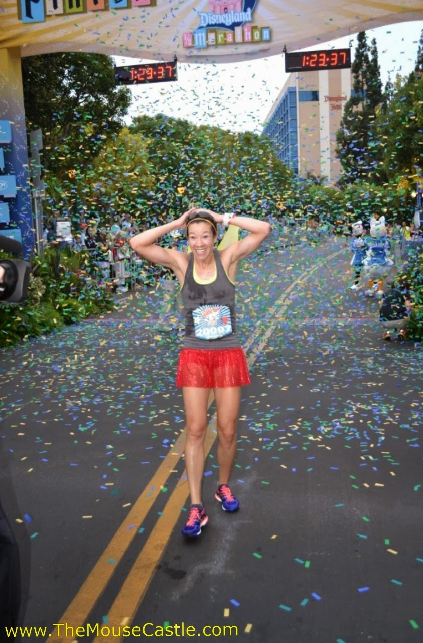 Jennifer Berry wins the 2014 Disneyland Half Marathon