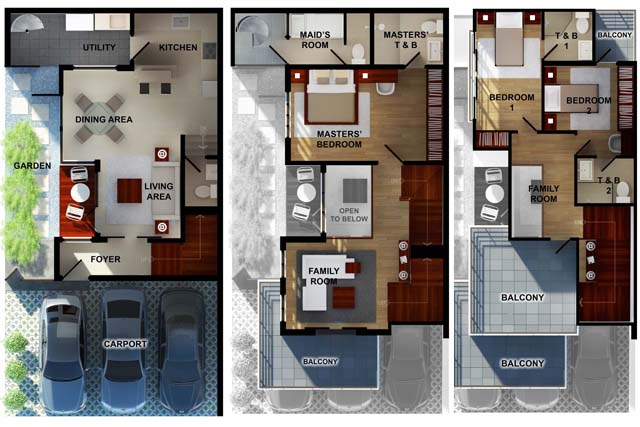 BUAT TESTING DOANG Floor Plans Philippine House Designs