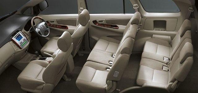 Interior Mobil Toyota Innova