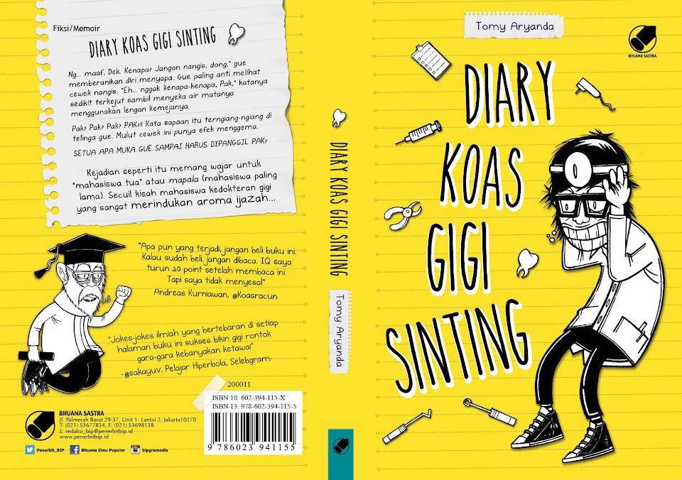 Buku Diary Koas Gigi Sinting