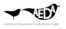 AEDA. Asociación de profesionales de la narración oral en España