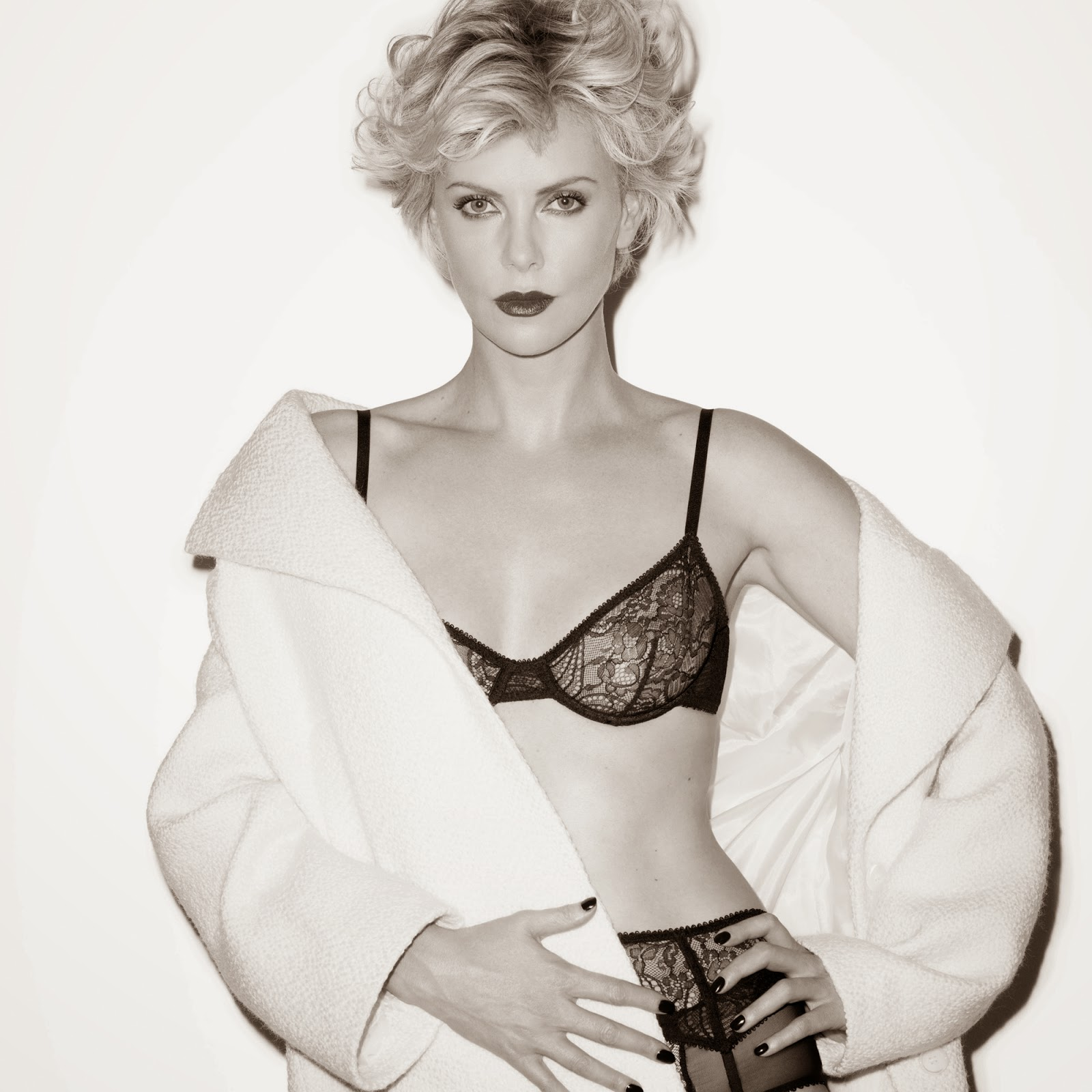 Charlize Theron Esquire UK July 2014