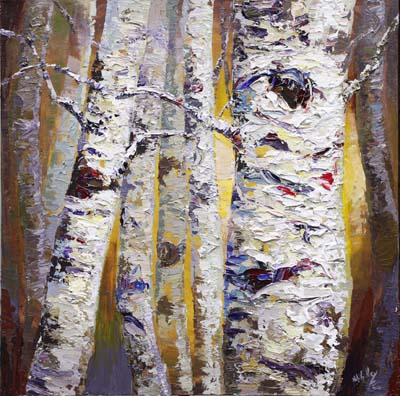 Palette knife painters international natural textures for Texture painting on canvas