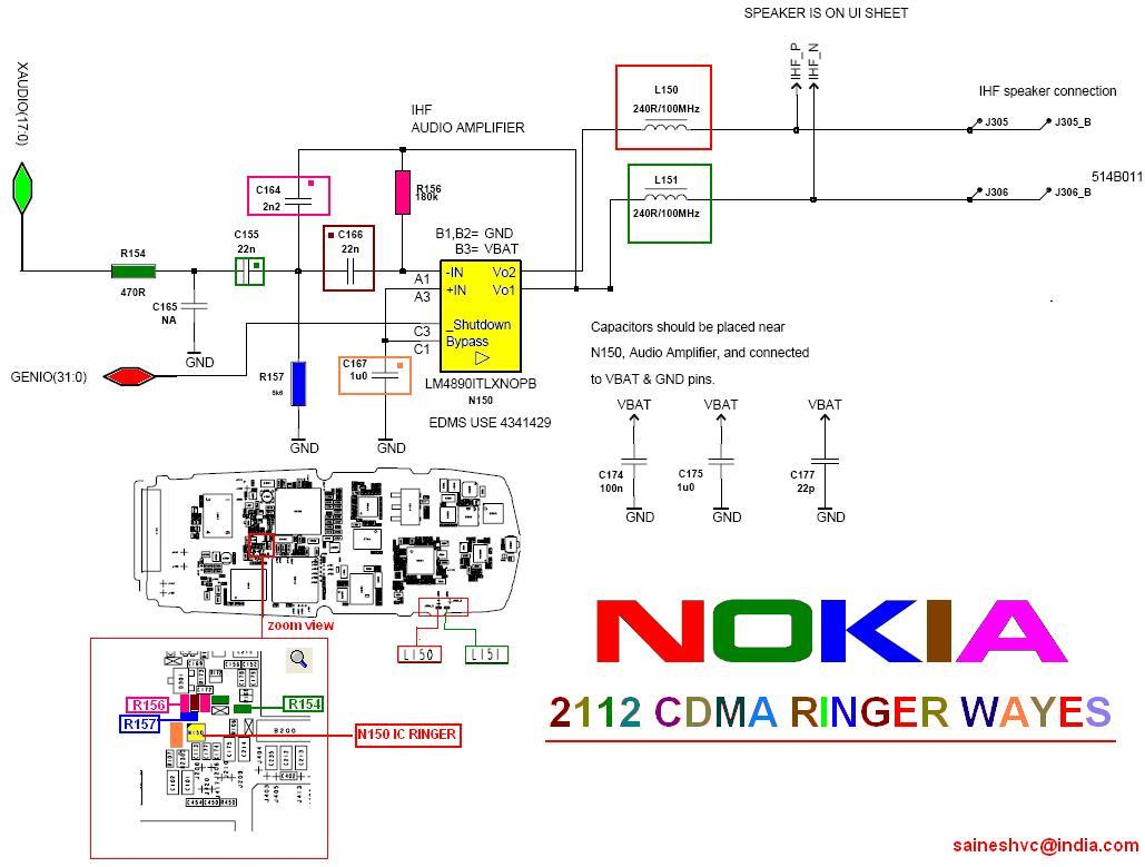 Mobile specialist: Nokia 2112 cdma ringer wayes