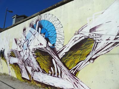 Akira graffiti