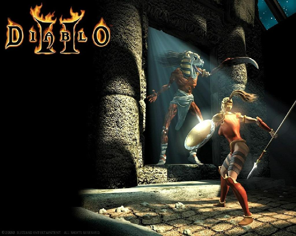 Diablo HD & Widescreen Wallpaper 0.0881819185315864