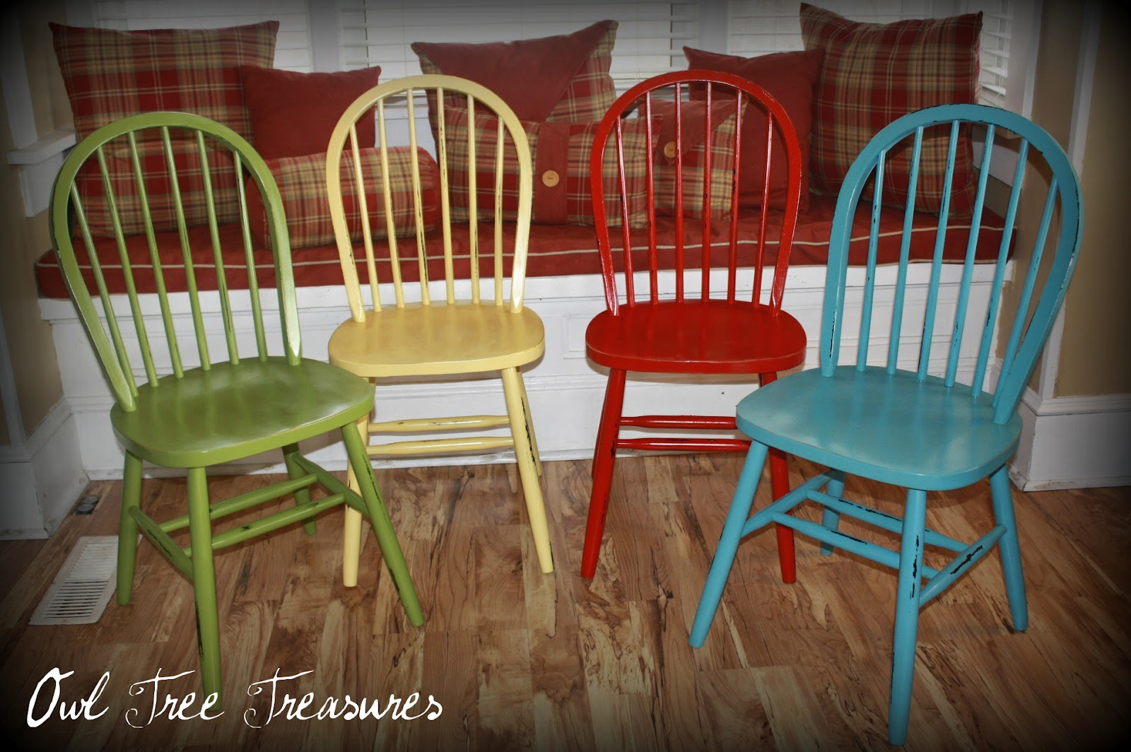 Distressed Chairs