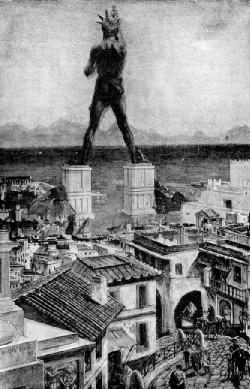 تمثال رودس , عجائب العالم بالصور , عجائب الدنيا السبع القديمة بالصور