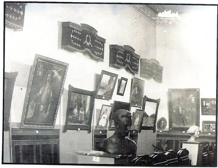 """BUSTO DE """"LAURITA"""" MARTÍNEZ VAZQUEZ-EXPOSICIÓN DE BELLAS ARTES EN  TOMELLOSO-1925-"""