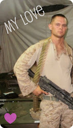 My wonderful husband, Lcpl Brewer
