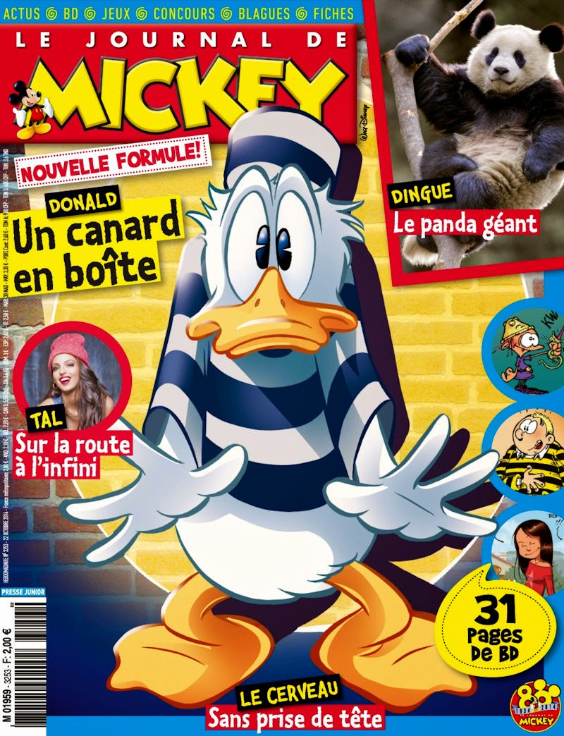 le journal de mickey journal de mickey 3253. Black Bedroom Furniture Sets. Home Design Ideas