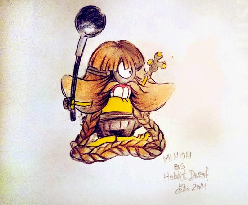 Minion Hobbit: Bombur