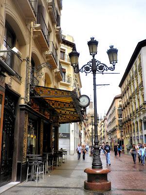 Calles de tapas por Zaragoza