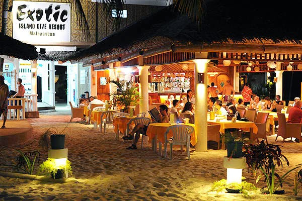 The resturant at Exotic
