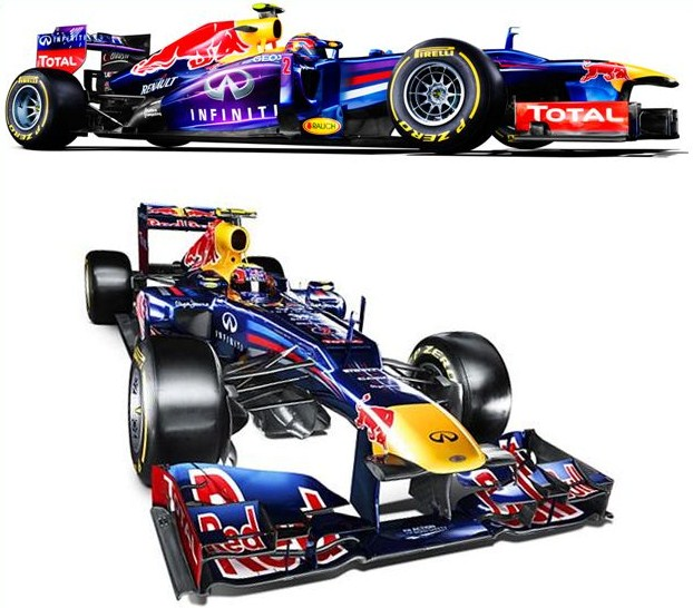 Automóvil F1 Red Bull RB29 RS 27 2013-2