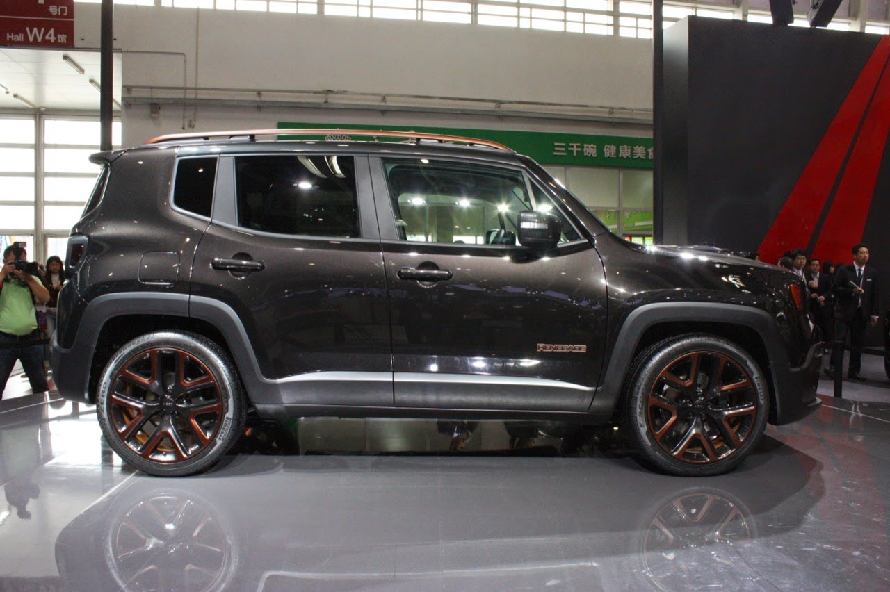jeep renegade zi you xia beijing 2014 photos latest. Black Bedroom Furniture Sets. Home Design Ideas