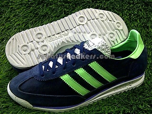 sepatu adidas dragon navy green