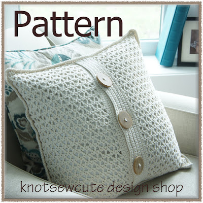 http://www.ravelry.com/patterns/library/cottage-chic-pillow-cover