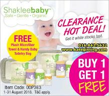 SHAKLEE BABY BELI 1 PERECUMA 1