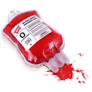 krwawy żel prysznicowy