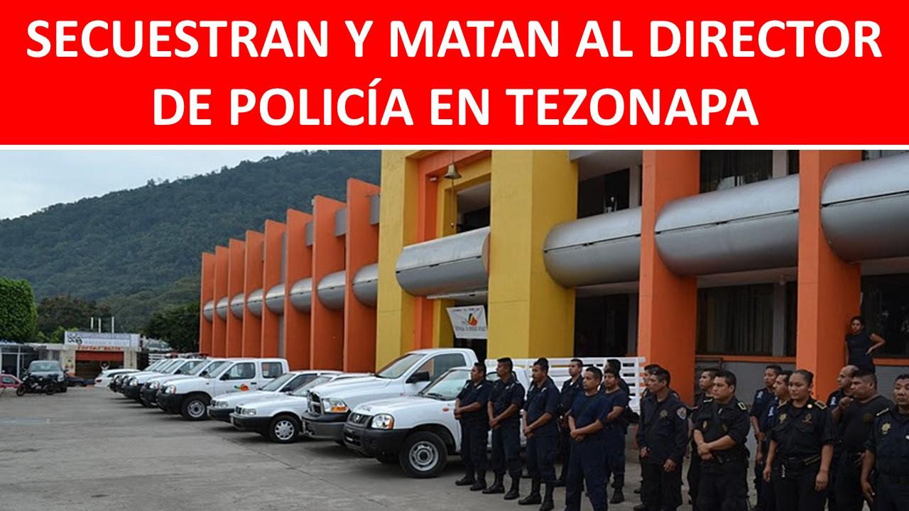 MATAN AL DIRECTOR DE POLICÍA