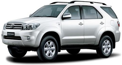 Toyota Fortuner, medium-sized SUV based on the Toyota Hilux :: Feed7