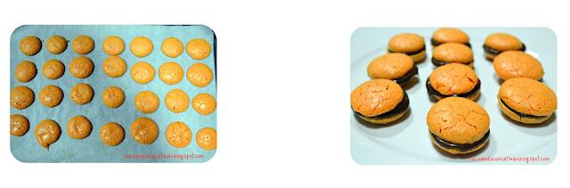 macarons3 Macarons con ganaché de chocolate (paso a paso)