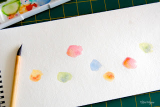 pintura fácil com aquarela tema passarinhos
