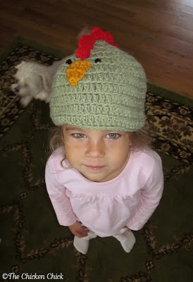 Chicken hat Giveaway at www.The-Chicken-Chick.com
