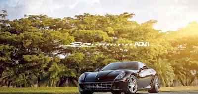 ADV.1 Wheels to Launch New Rims on Ferrari 599 Project