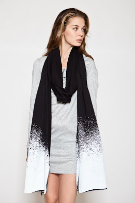 Ombre Scarf with Hood