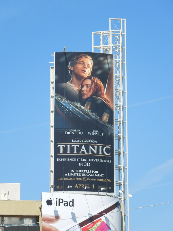 Titanic 2012 movie billboard