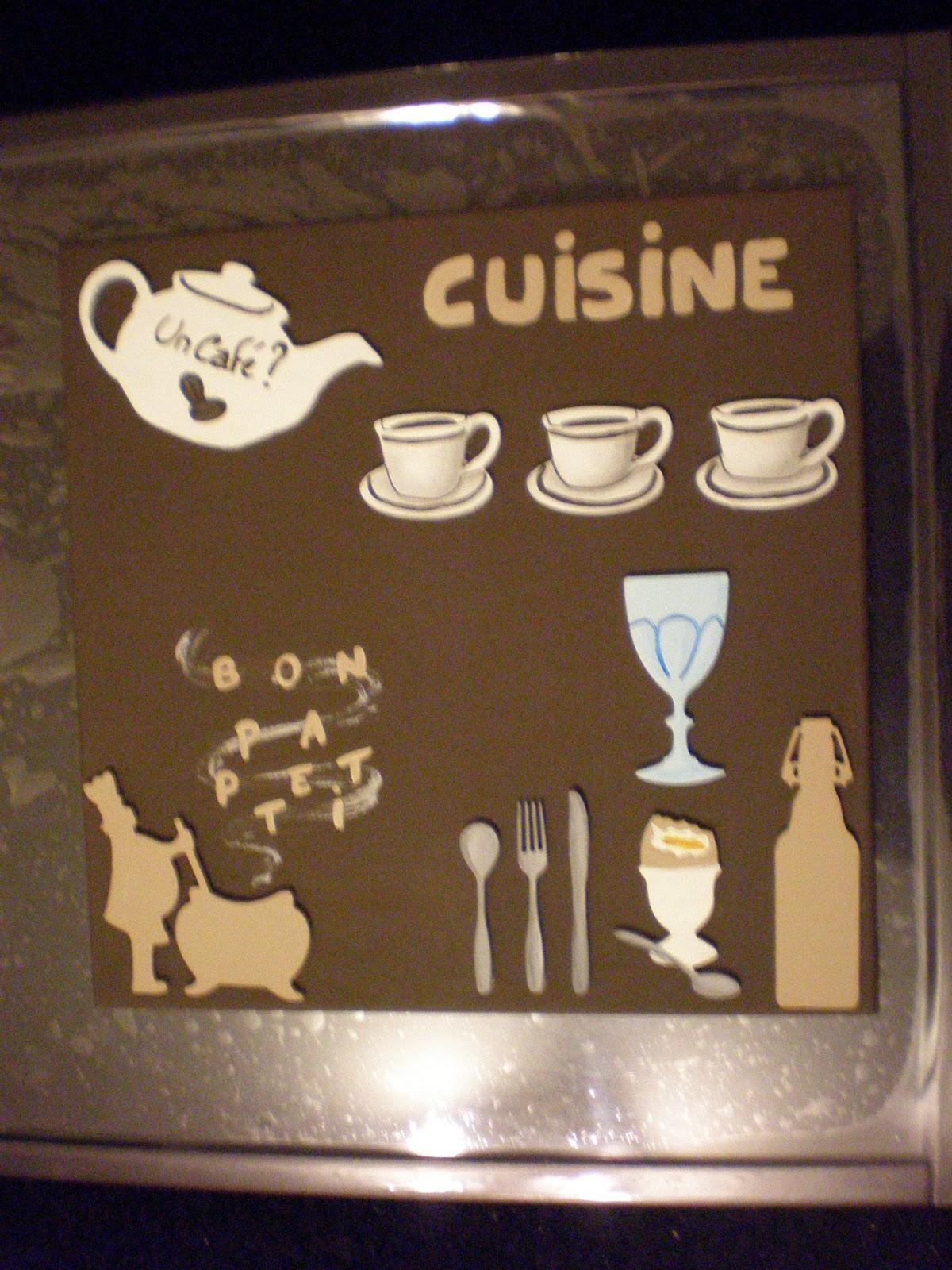 Mes ptites mains en action tableaux d co cuisine for Deco cuisine dessin