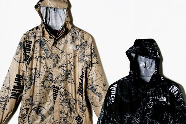 Outside facing in the north face continues collaborations with supreme each item is available in both tan and black and will feature all over print of world map imagery along with both the north face and supreme brand logos gumiabroncs Gallery