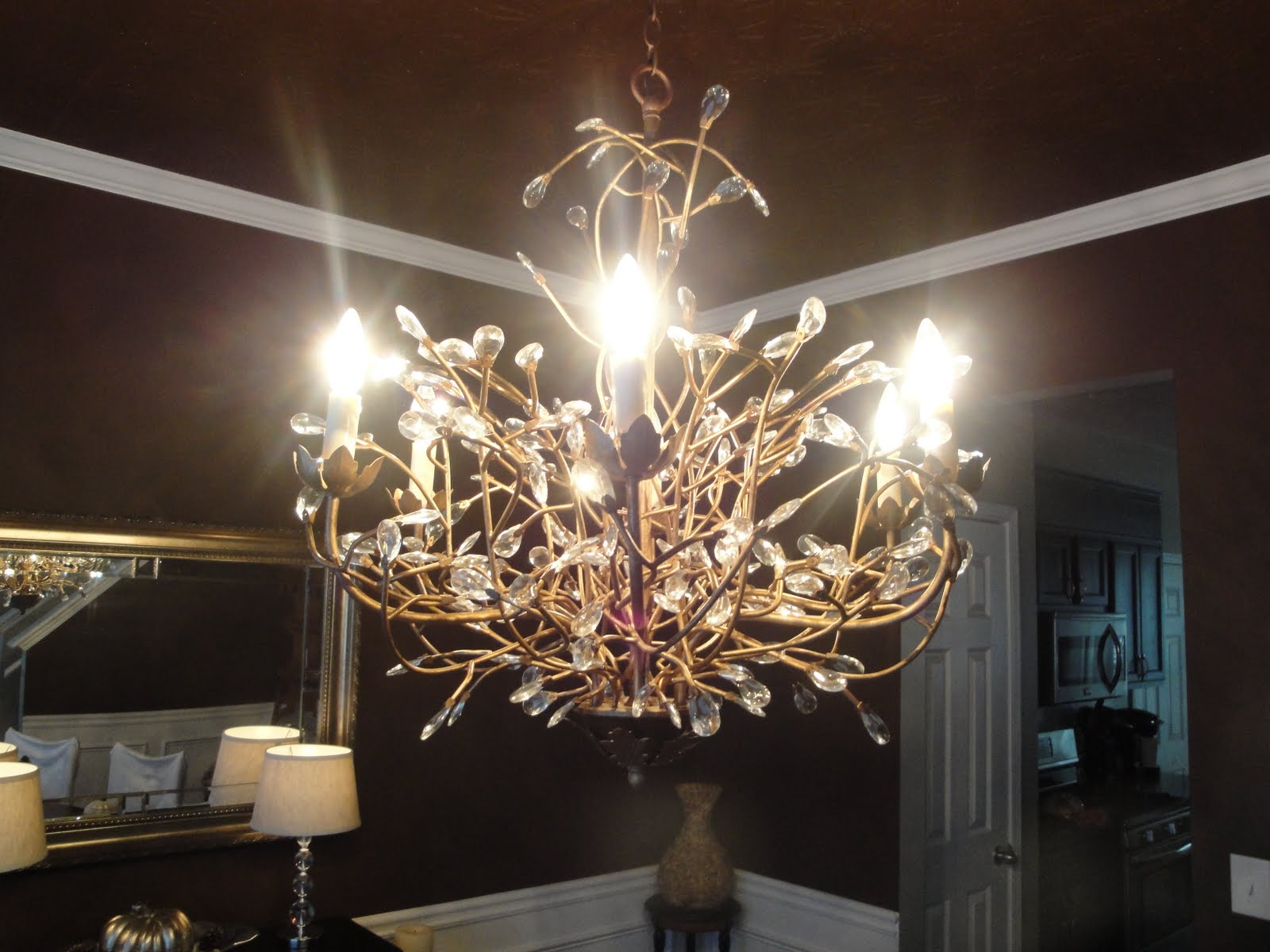 TiffanyD: New Dining Room, Painting Tips, and Some Fall Decor