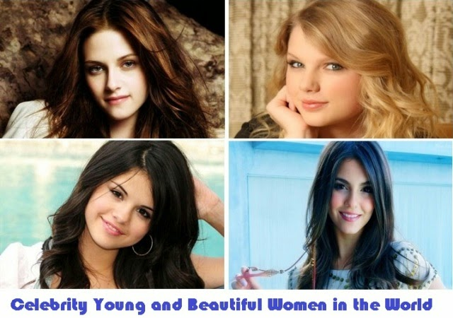 Celebrity Young and Beautiful Women in the World