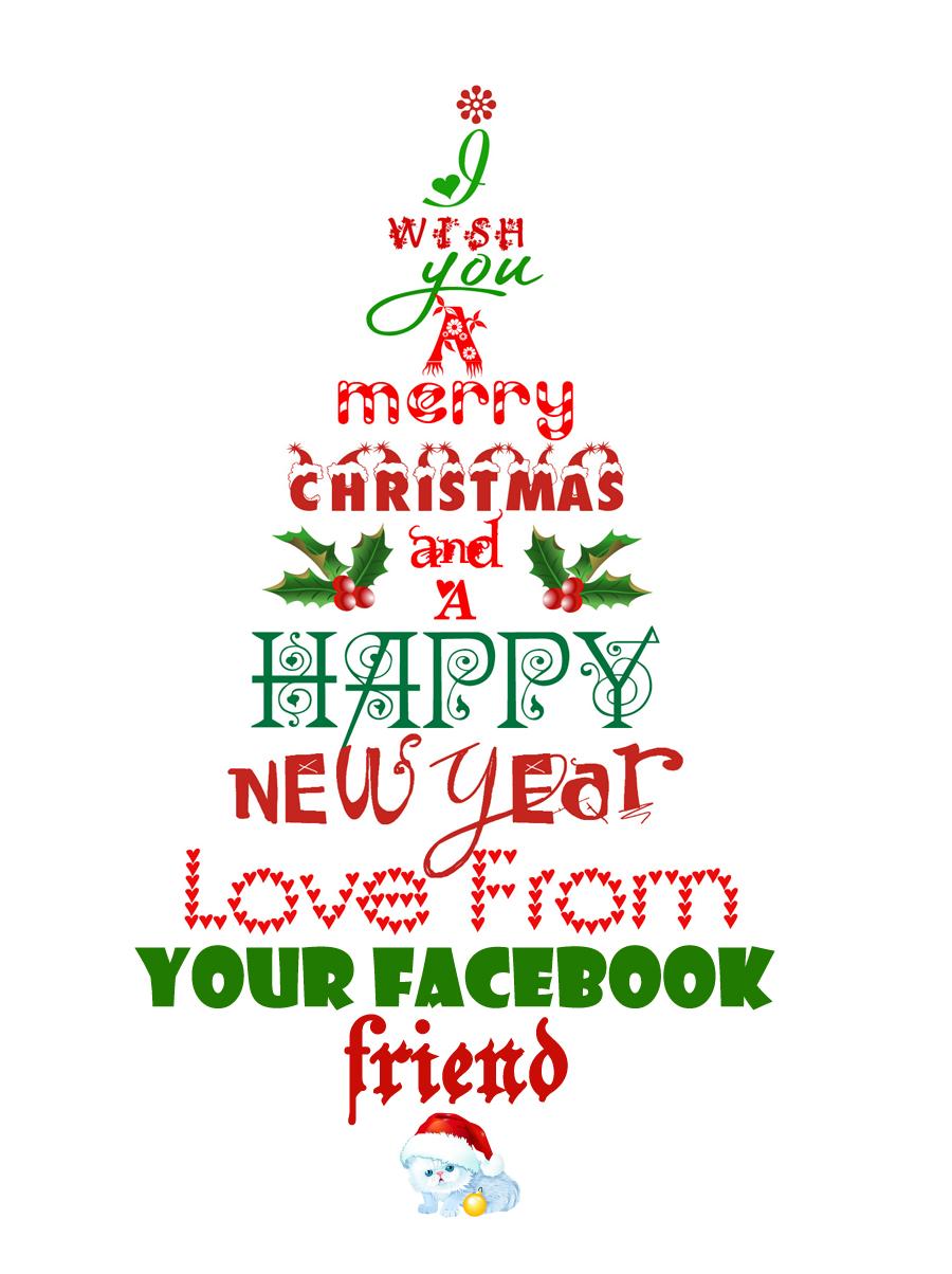 Pinos de feliz navidad y feliz a o nuevo 4 im genes - Deseos de feliz navidad ...